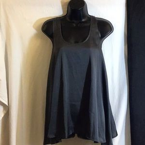 Violet & Claire Gray Blouse Sleeveless Small